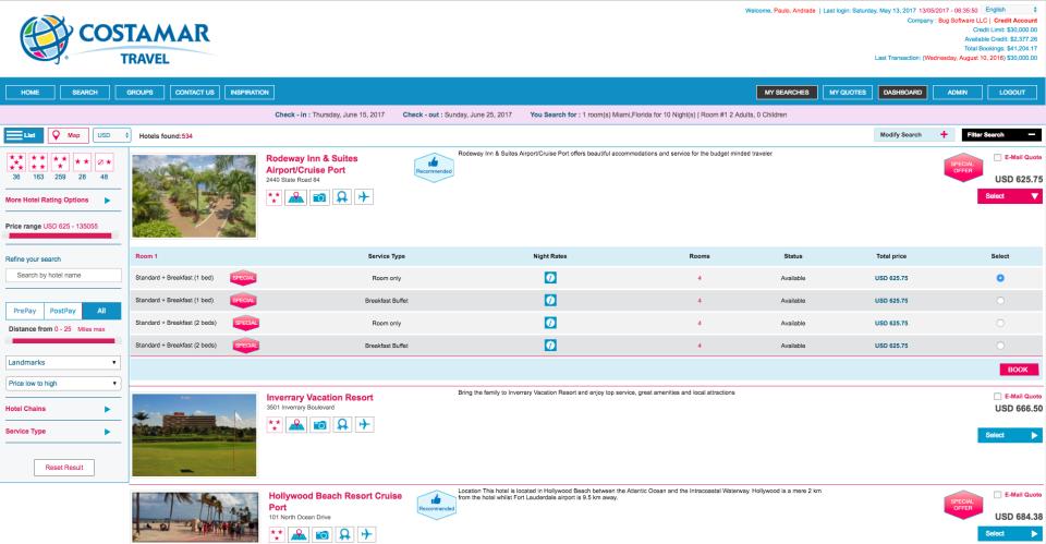 BugHotel Reservation System-screenshot-1