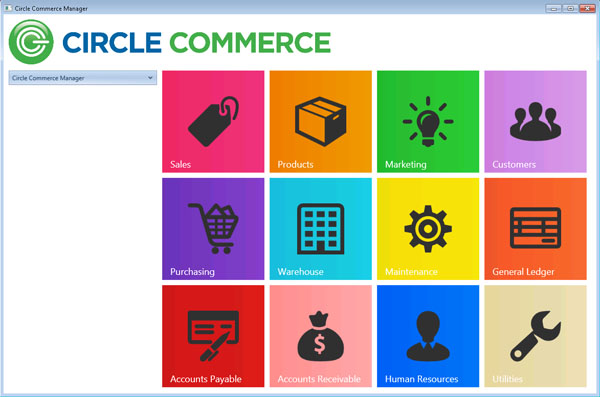 Circle Commerce Manager-screenshot-0