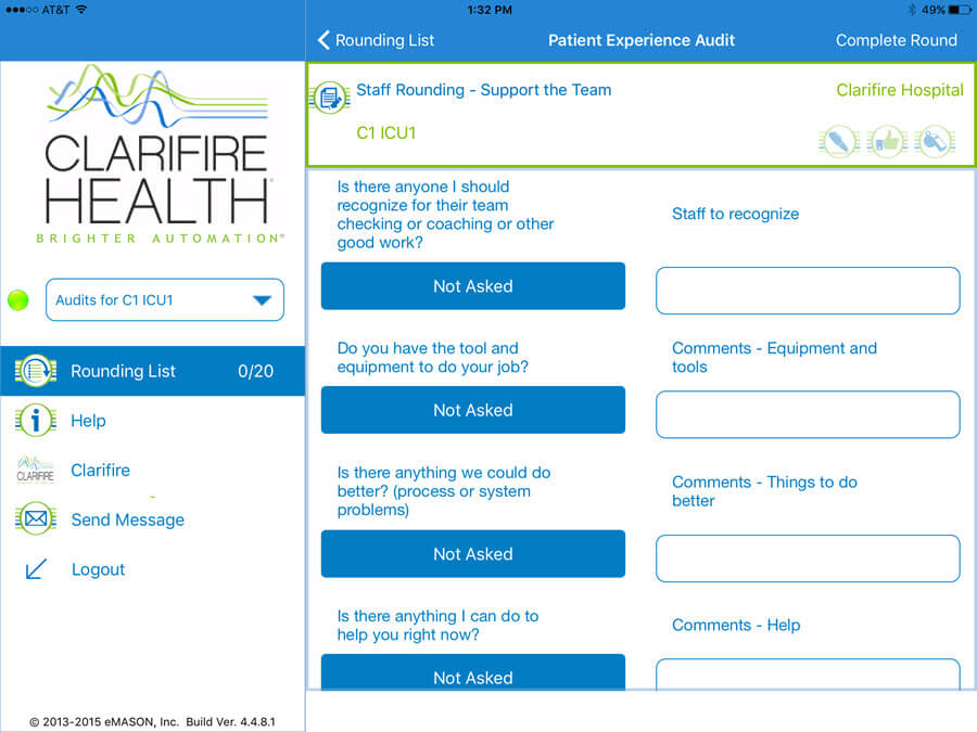 CLARIFIRE HEALTH-screenshot-1