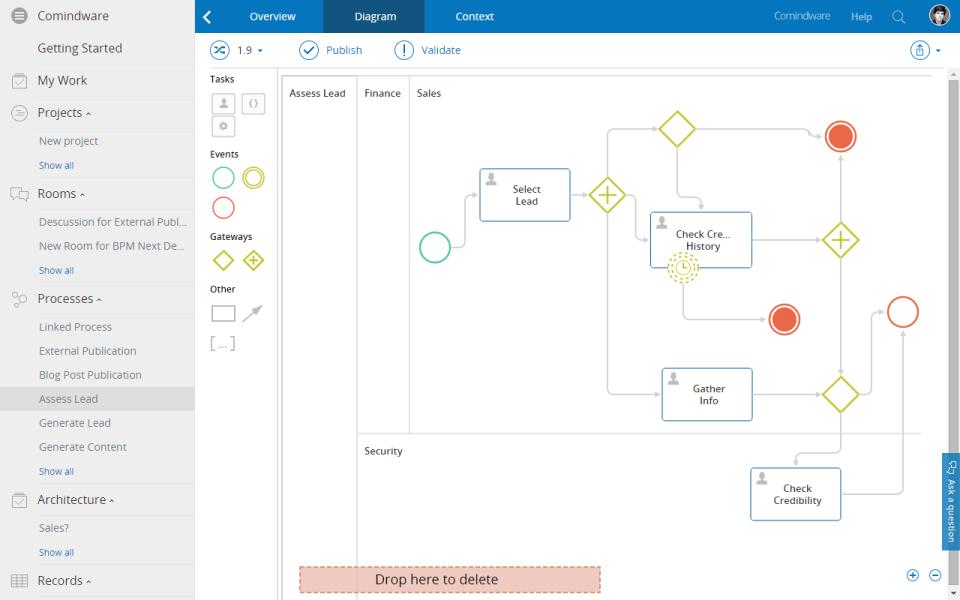 Comindware Process-screenshot-0