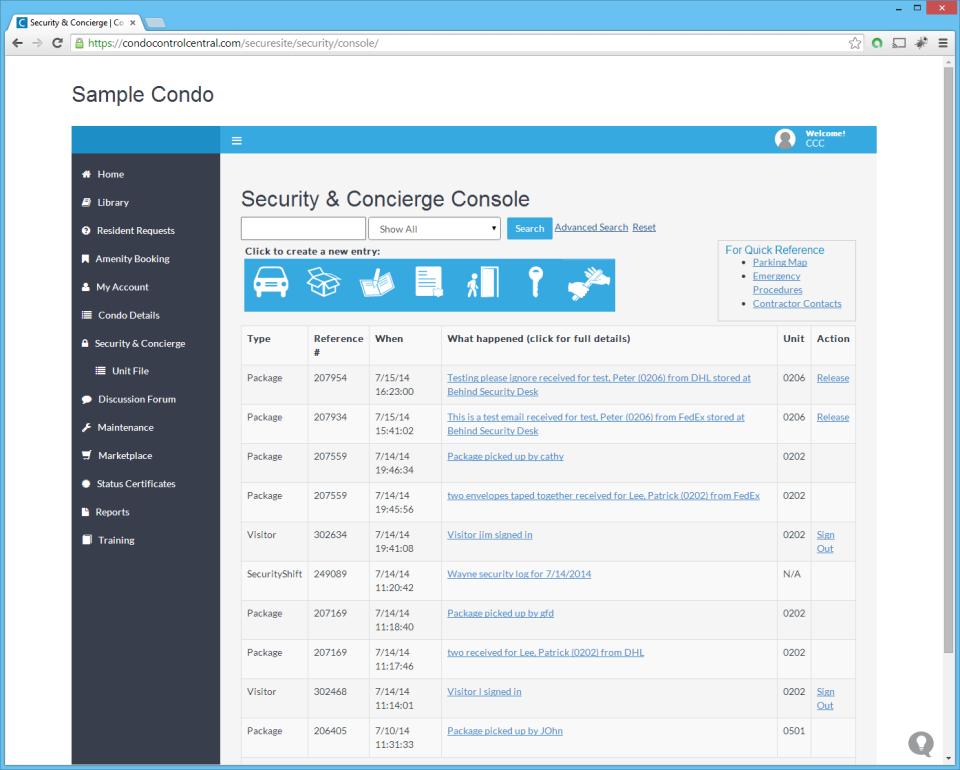 Condo Control Central-screenshot-4