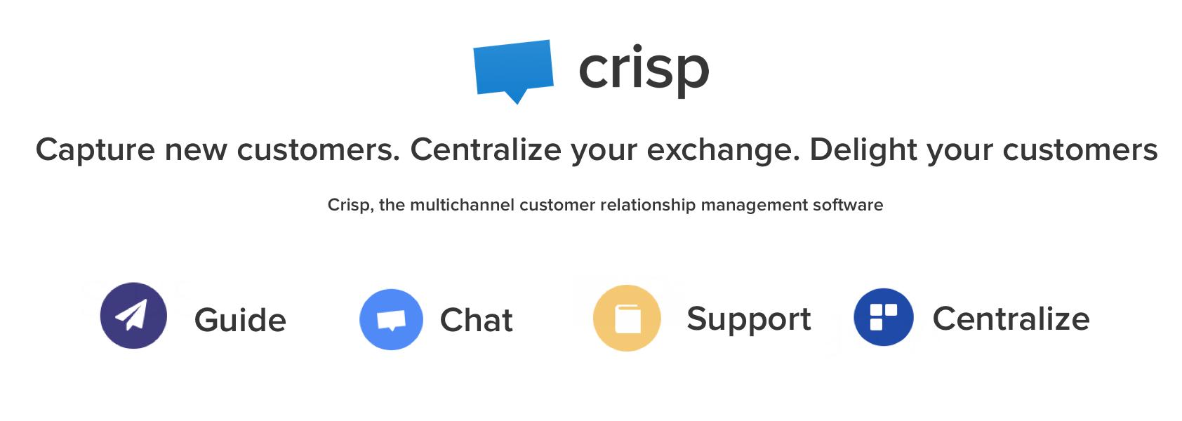 Avis Crisp : Plateforme Conversationnelle pour PME - appvizer