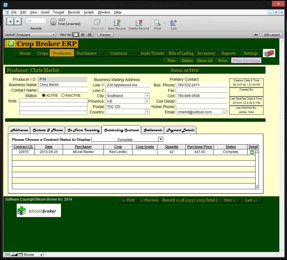 Crop Broker ERP-screenshot-1