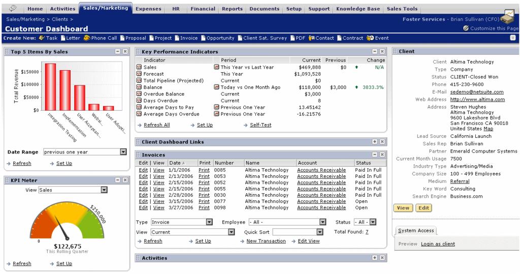 NetSuite CRM+: Gestion des propositions commerciales entrantes commerciales, Application mobile, Gestion de boutiques