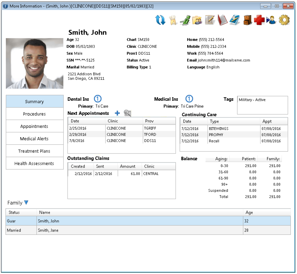 Dentrix Enterprise-screenshot-1