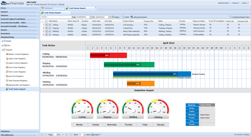 Deskera ERP-screenshot-2