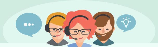 Une équipe réactive à la disposition des utilisateurs