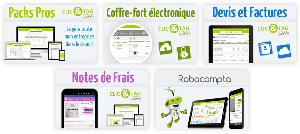Avis Clic&Tag : Gérez simplement votre entreprise en ligne et sur mobile ! - Appvizer