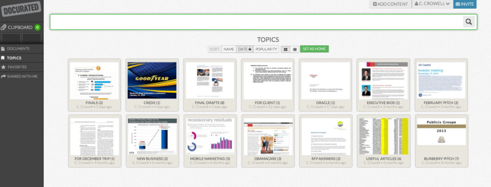 Docurated Sales Enablement-screenshot-0