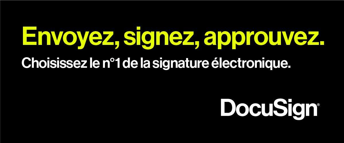 Avis DocuSign : Le leader mondial de la signature électronique - appvizer