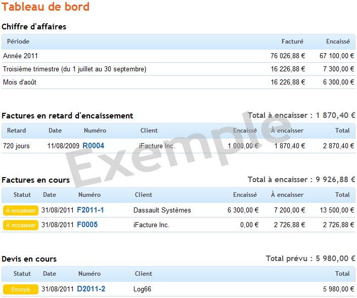 iFacture: Envoi des factures par email, Gestion automatique de la TVA, Factures personnalisées