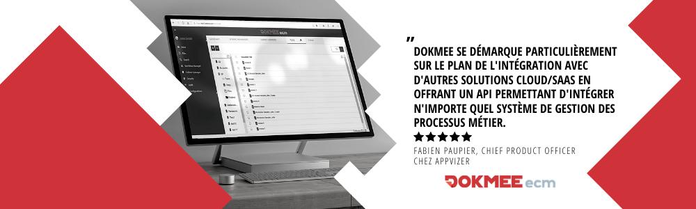 Avis Dokmee : Solution GED complète, facile et intuitive pour les PME/ETI - appvizer