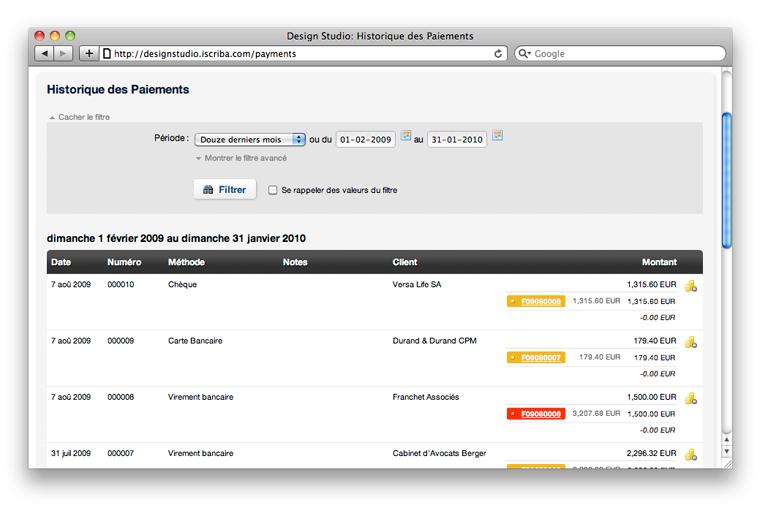 iScriba: Import, Secure Sockets Layer (SSL), Gestion de plusieurs devises