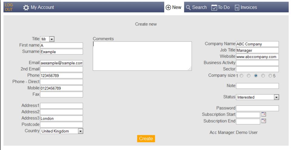 Easy Simple CRM-screenshot-0