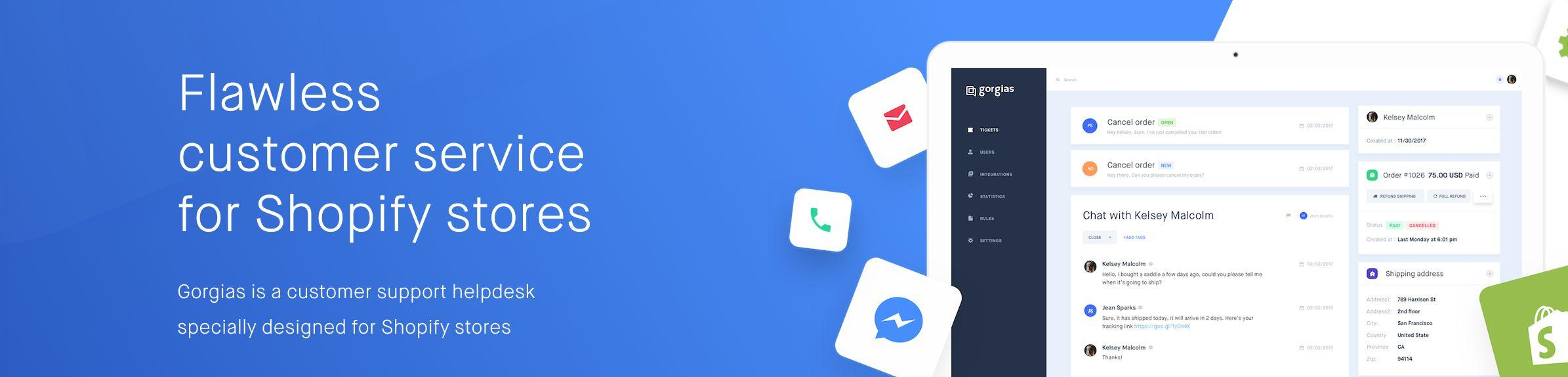Avis Gorgias : Logiciel de support client pour Shopify - appvizer