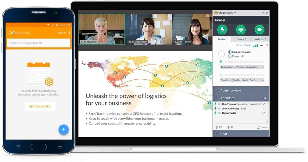 Avis GoToMeeting : Des réunions vidéos rapides, simples et foncitonnelles - Appvizer