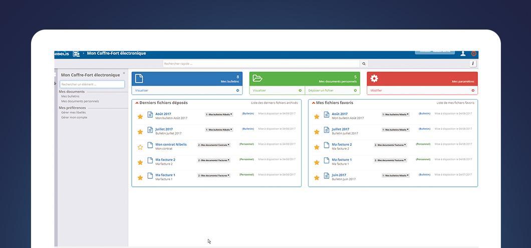 Une navigation intuitive et des données actualisées en temps réel