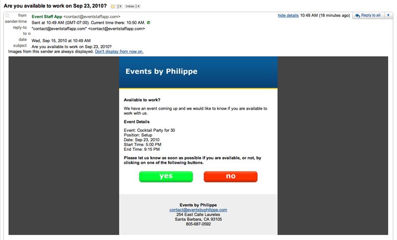 Event Staff App-screenshot-1