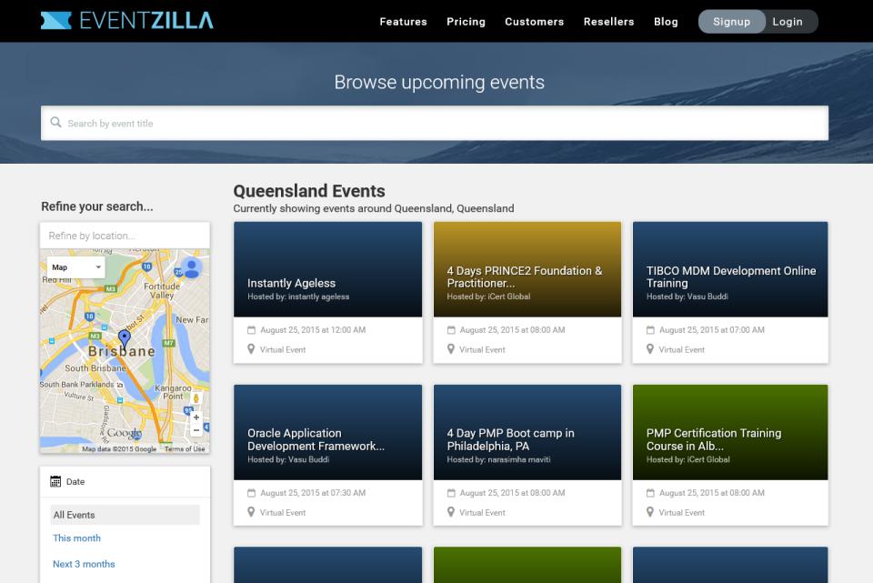 Eventzilla-screenshot-1