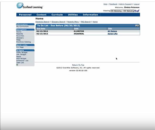 ExxTend Learning-screenshot-1