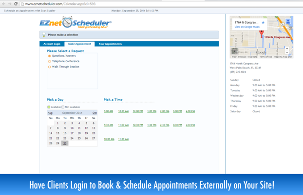 EZnet Scheduler-screenshot-1