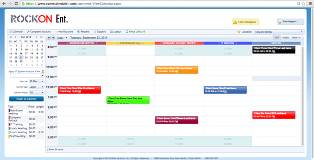 EZnet Scheduler-screenshot-4