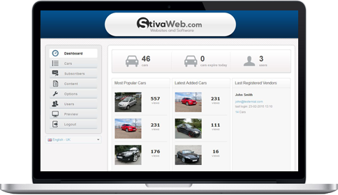 ezyCarDealer CMS-screenshot-0