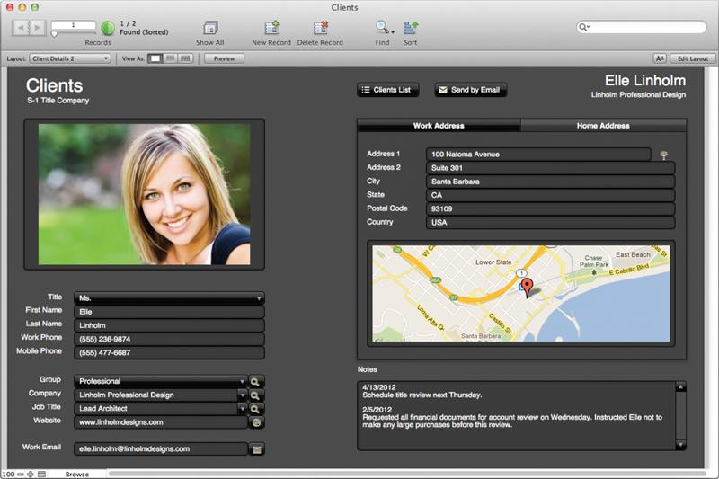 FileMaker Pro App for CRM-screenshot-0