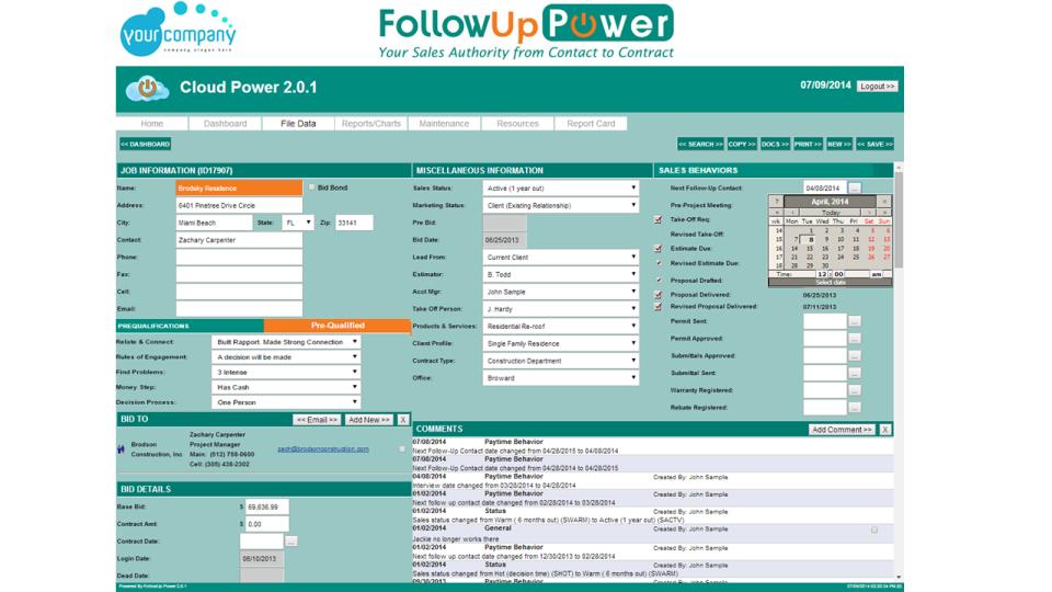 FollowUp Power-screenshot-2